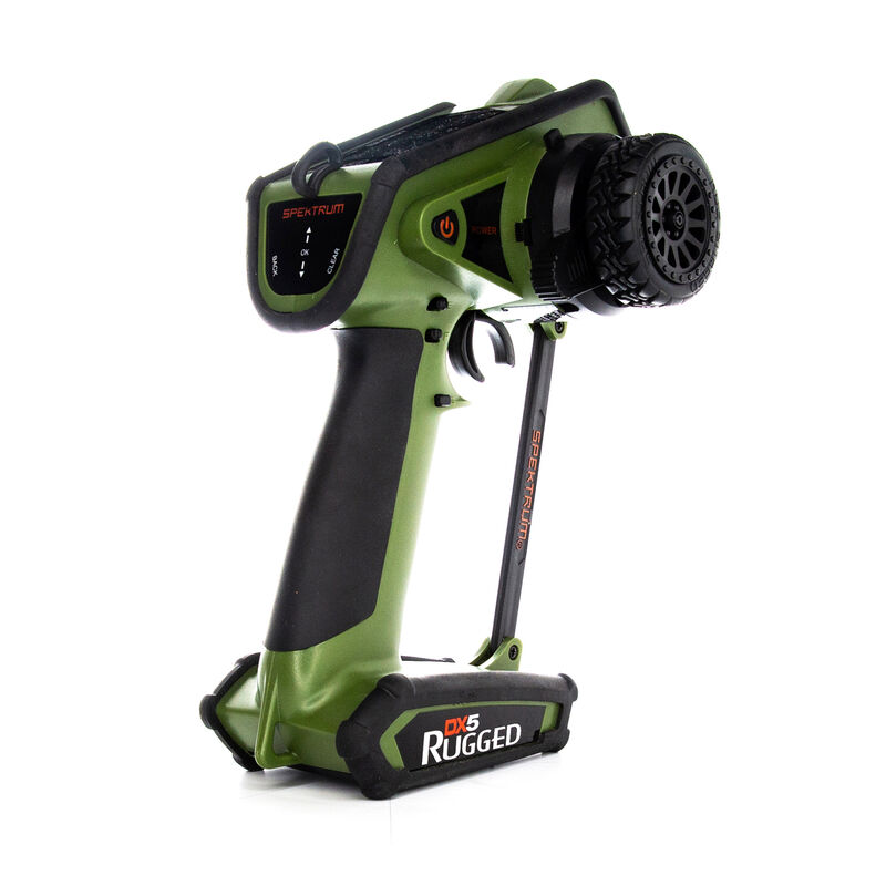 DX5 Rugged DSMR TX Only, Green