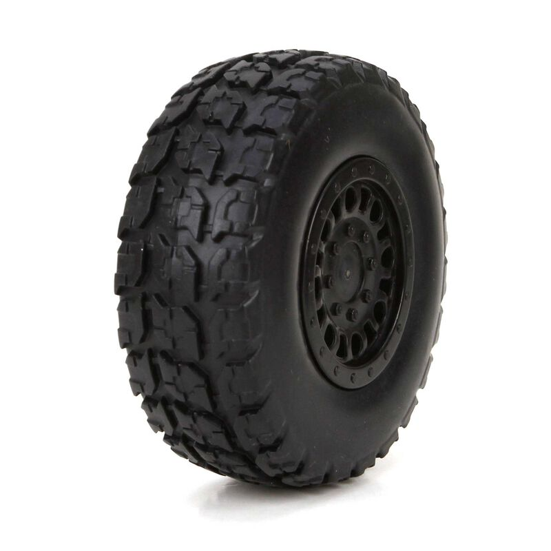 Front/Rear Premount Tire: 1/18 4WD Torment (2)