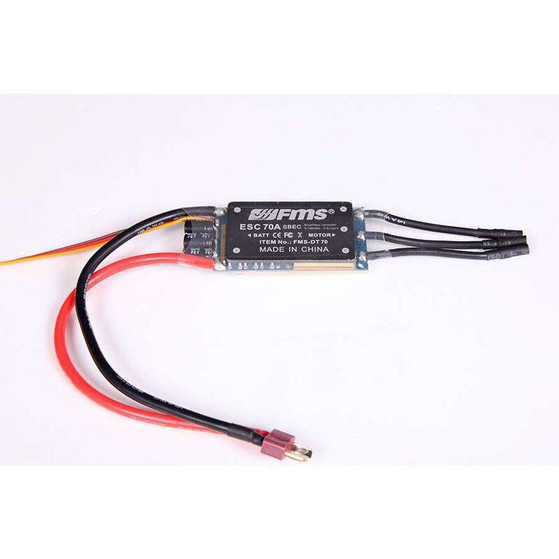 70A ESC w 5A SBEC 200mm Cable