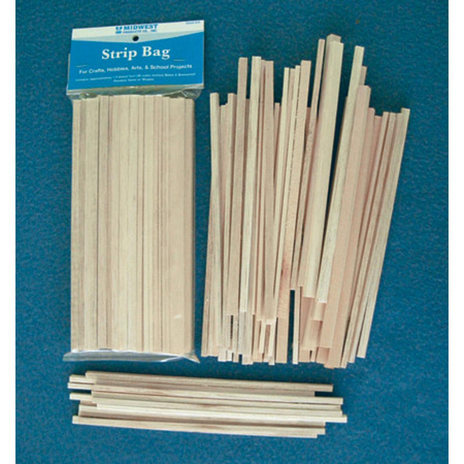 Balsa & Basswood Strips