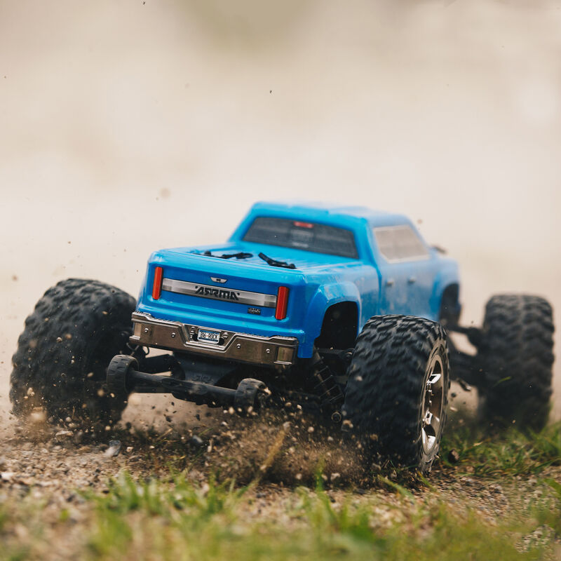 1/10 BIG ROCK CREW CAB 3S BLX 4WD Brushless RTR, Blue
