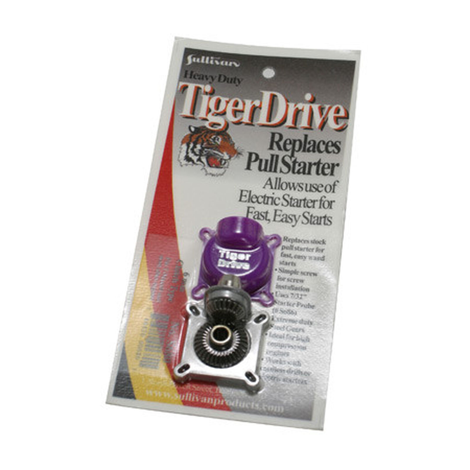 TigerDrive Clutch Version, 6mm Rear Output Shaft