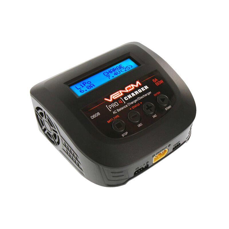 Pro 4 60W AC 6A LiPo LiHV & NiMH Balance Charger