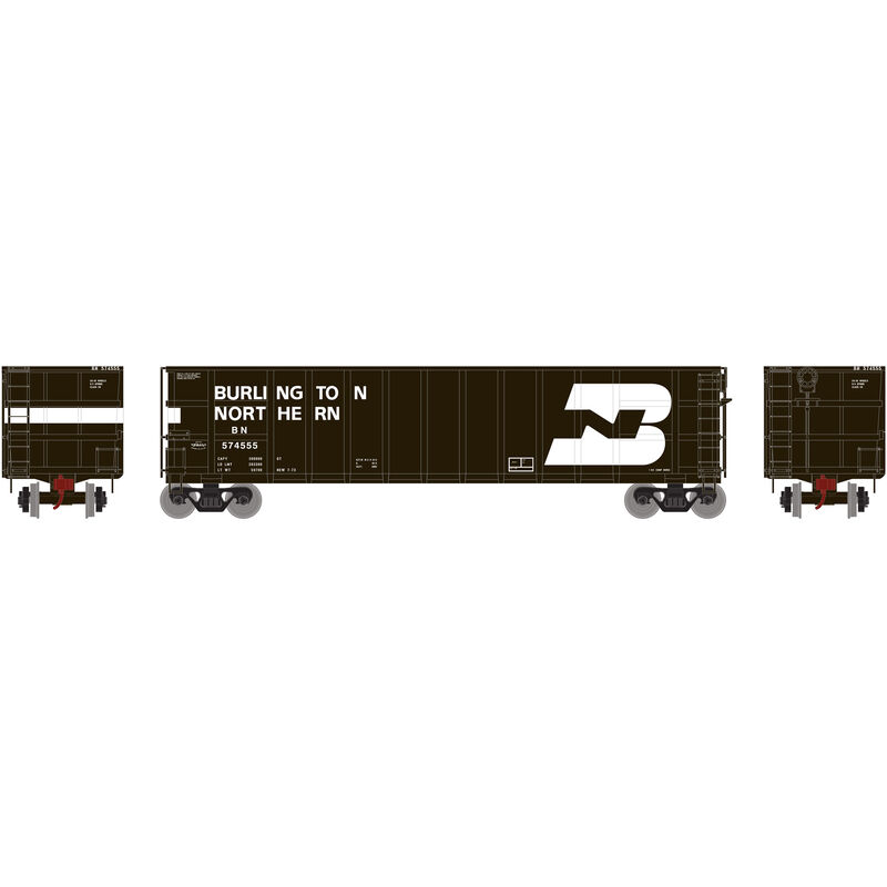 HO RTR Thrall High Side Gondola with Load BN #574555