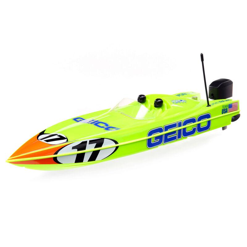 "17"" Power Boat Racer Self-Righting Deep-V RTR"