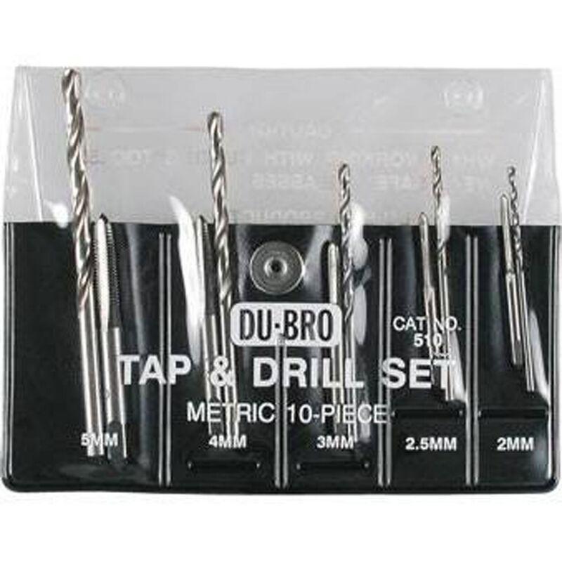 Tap & Drill Set, Metric