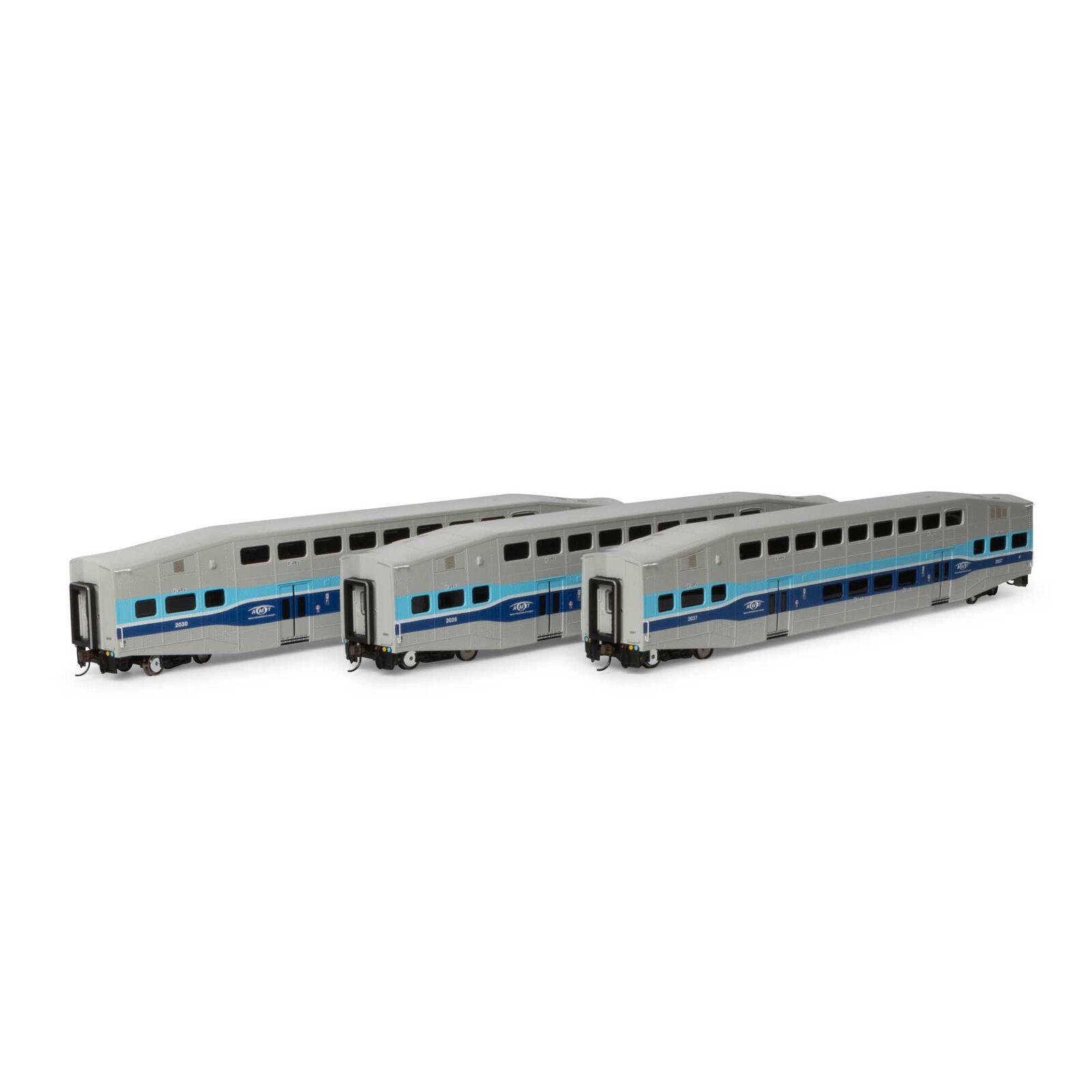 HO RTR Bombardier Coach, AMTL (3)