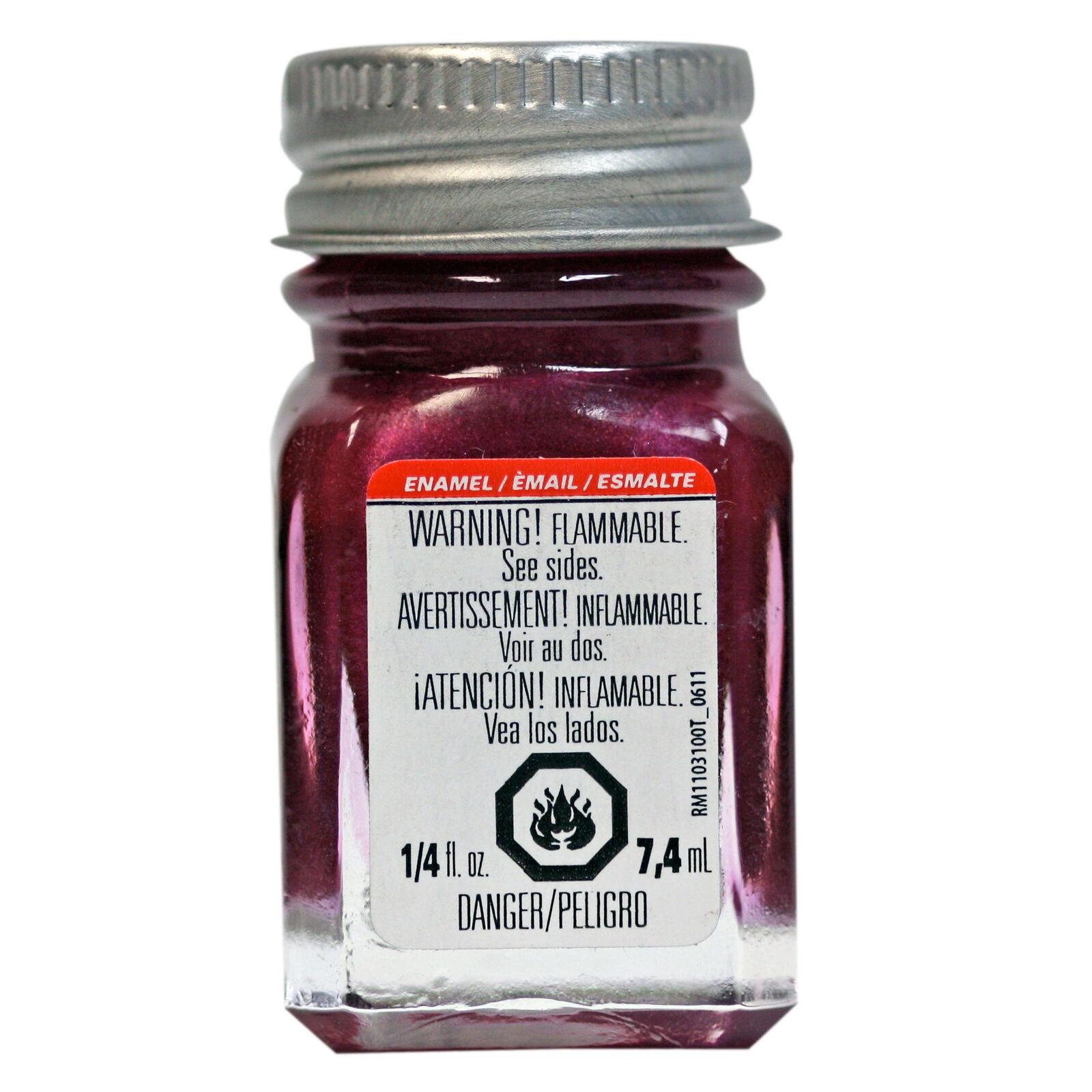 Enamel 1/4 oz Metal Flake Purple