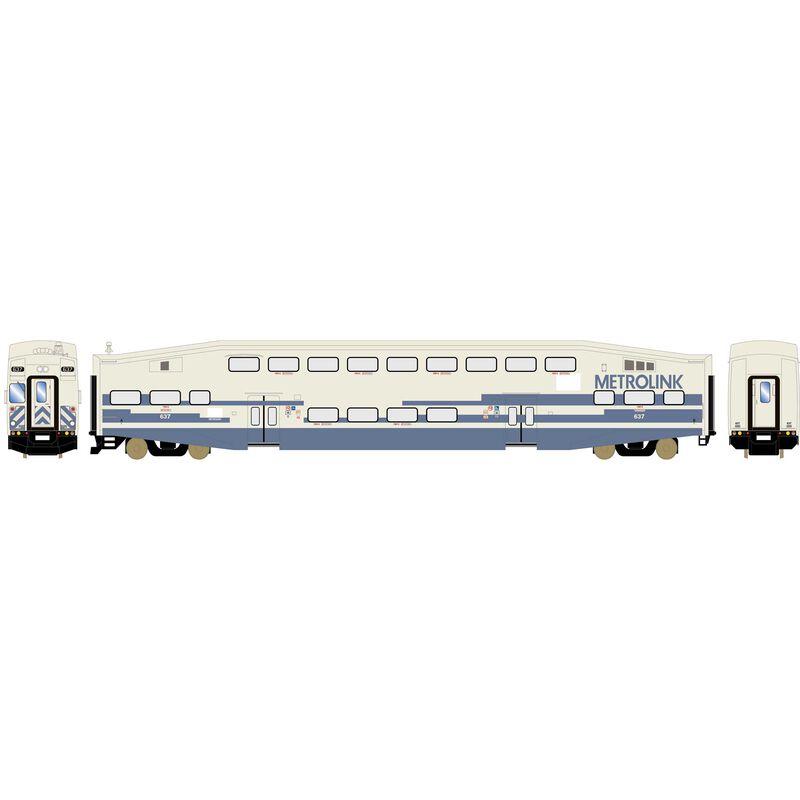 HO RTR Bombardier Cab, Metrolink #637