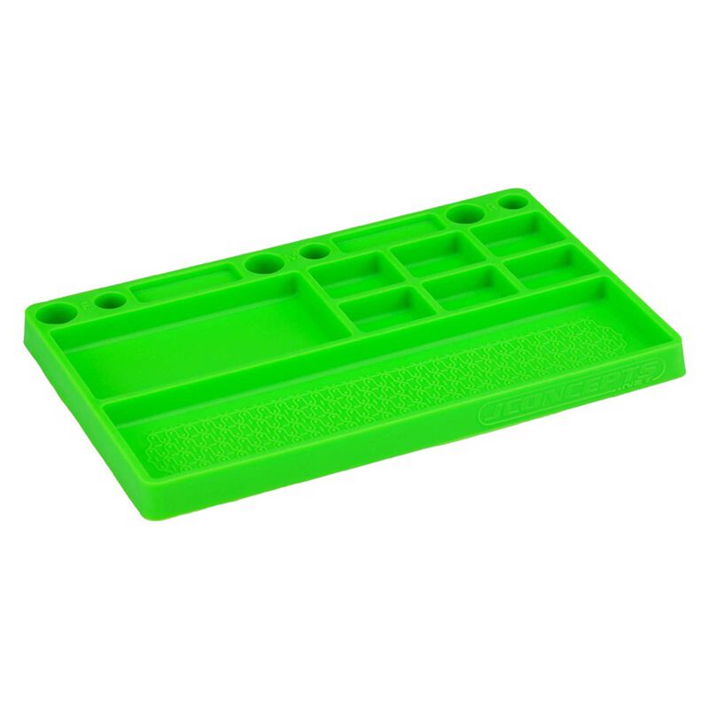 Parts Tray Rubber Material, Green