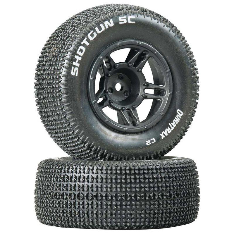 1/10 Shotgun SC Tire C2 Mounted Front Tires: Slash (2