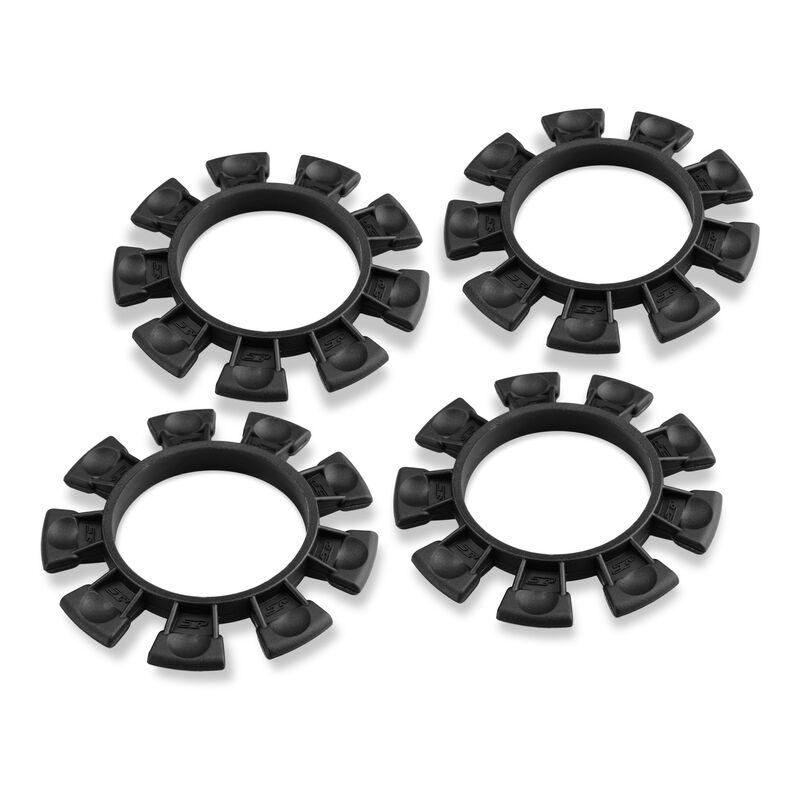 Satellite Tire Gluing Rubber Bands, Black