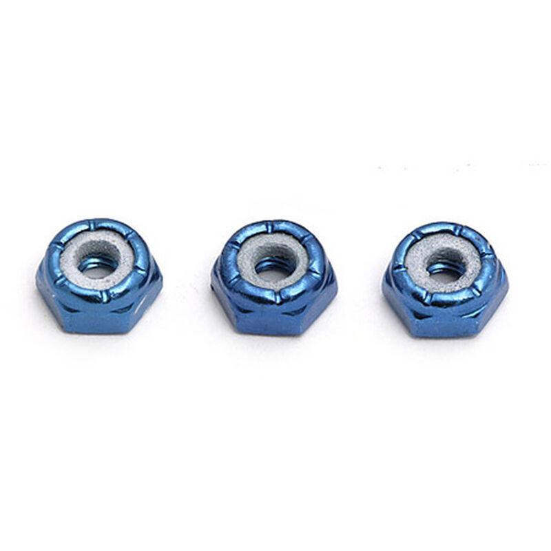 Locknuts, Aluminum Axle 8-32 (3)