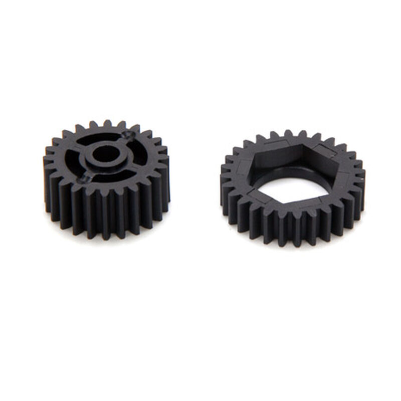 2-Speed and Diff Gears, Plastic (3): SNT