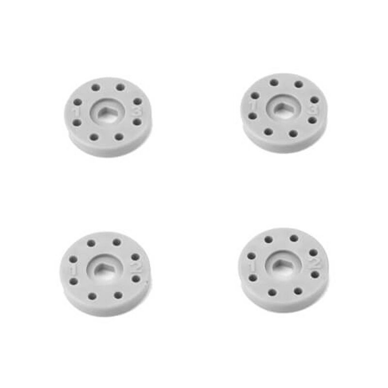 Shock Piston Set 8x1.2 8x1.3 flat flat 13mm (4pcs)
