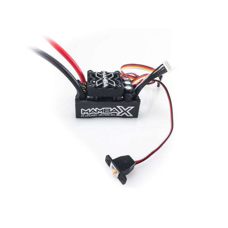1/10 Mamba X Sensored 25.2V WP ESC 8A BEC 010015500