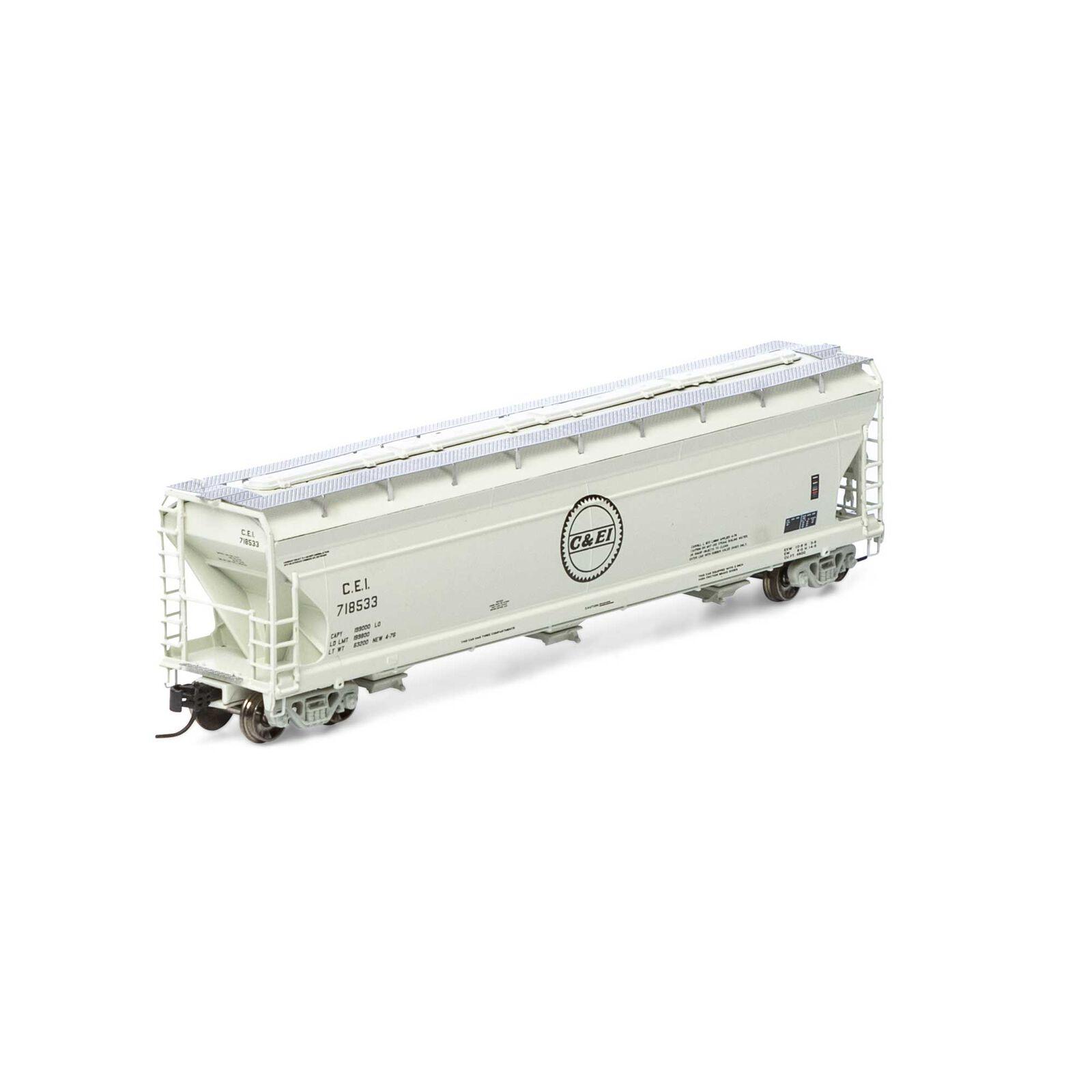 N ACF 4600 3-Bay Centerflow Hopper, C&EI #718533