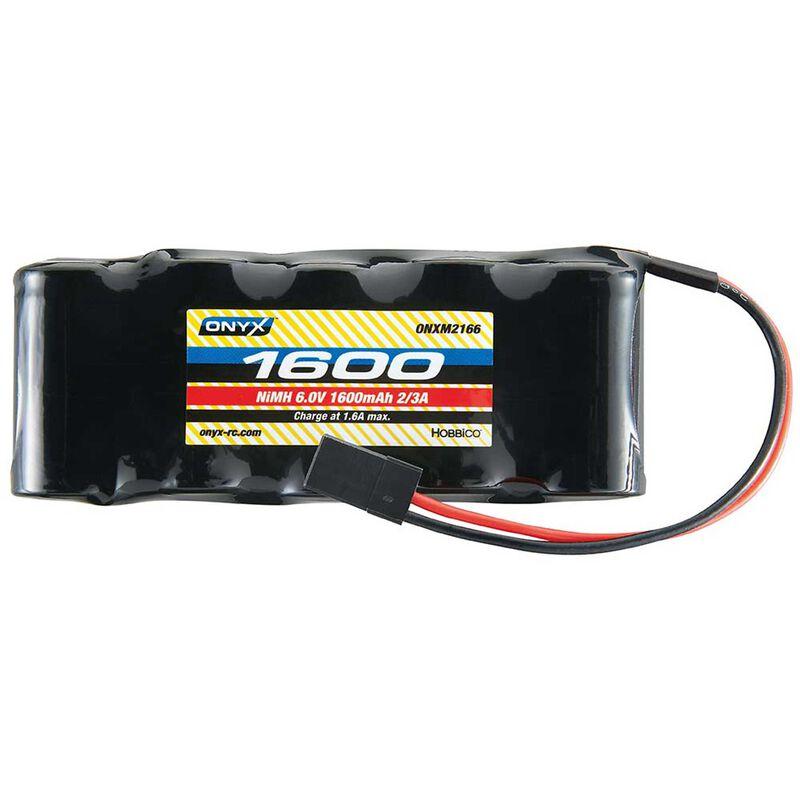 6.0V 1600mAh NiMH 2/3A Flat Receiver Battery: Universal Receiver