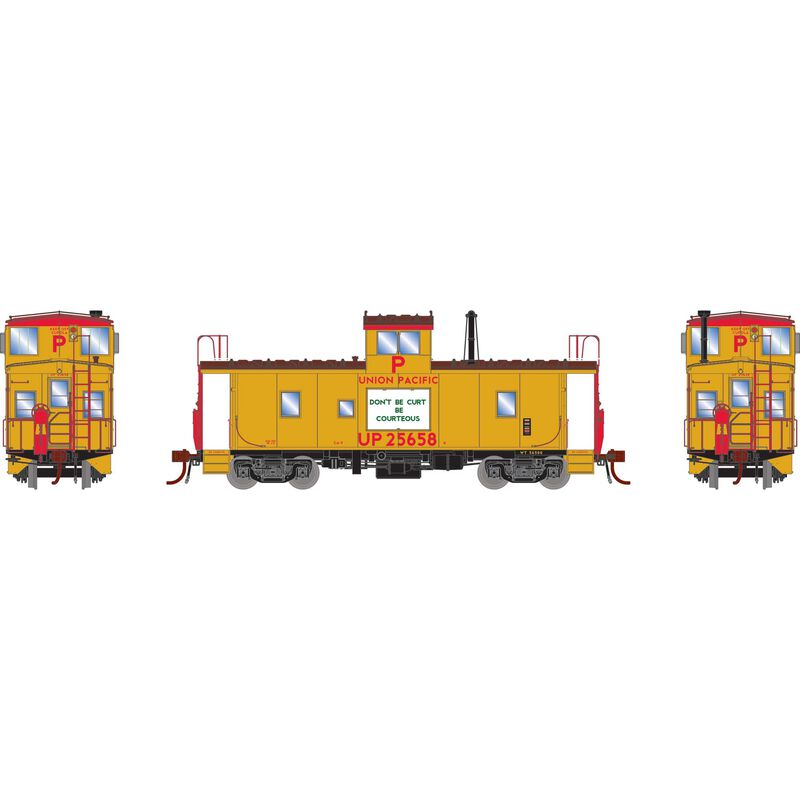 HO CA-9 ICC Caboose with Lights UP #25658