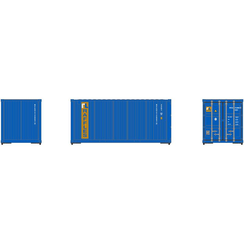 HO RTR 20' Corrugated Container RFCU (3)