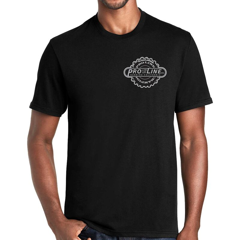 Pro-Line Manufactured Black T-Shirt - Small