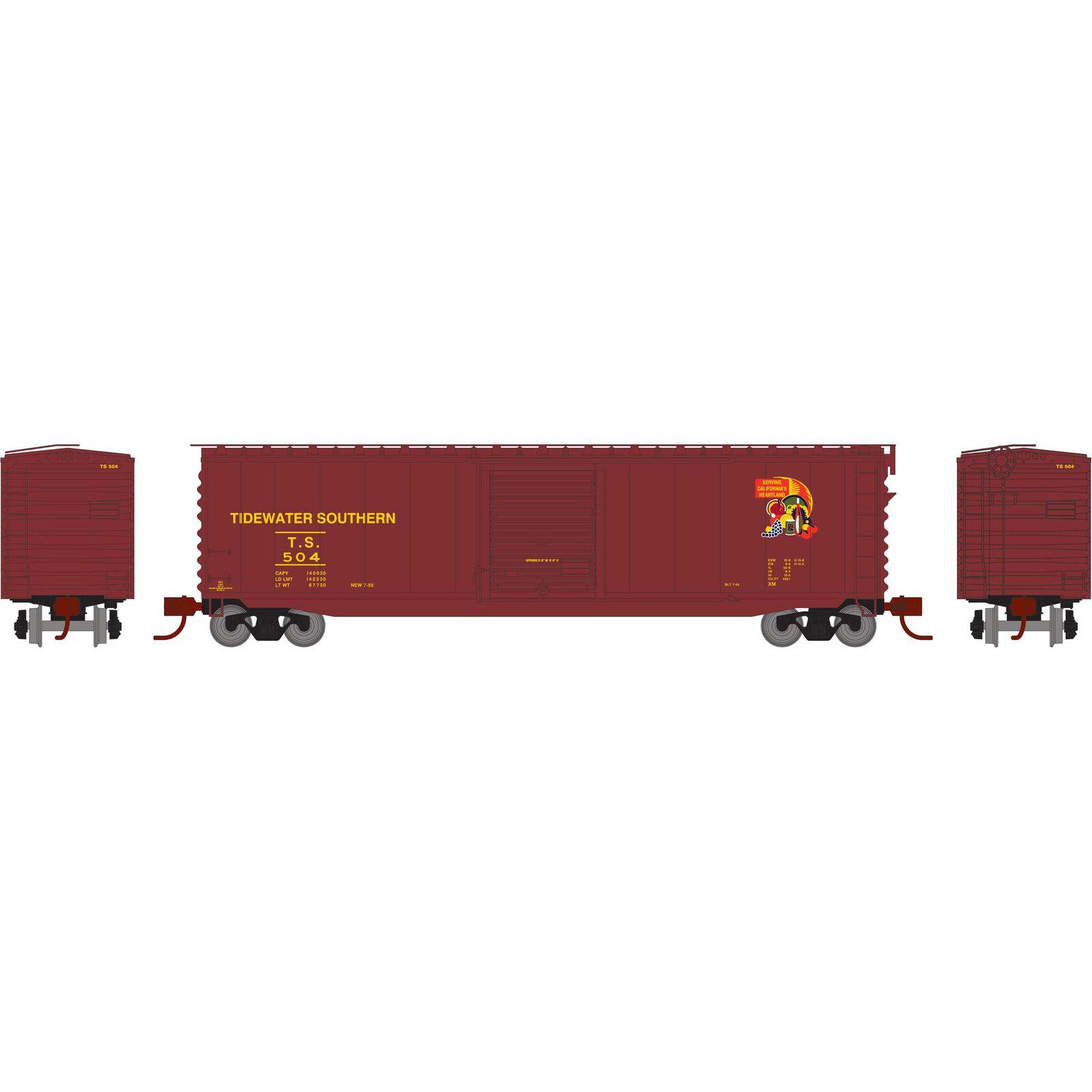N 50' PS-1 Single Door Box TS #504