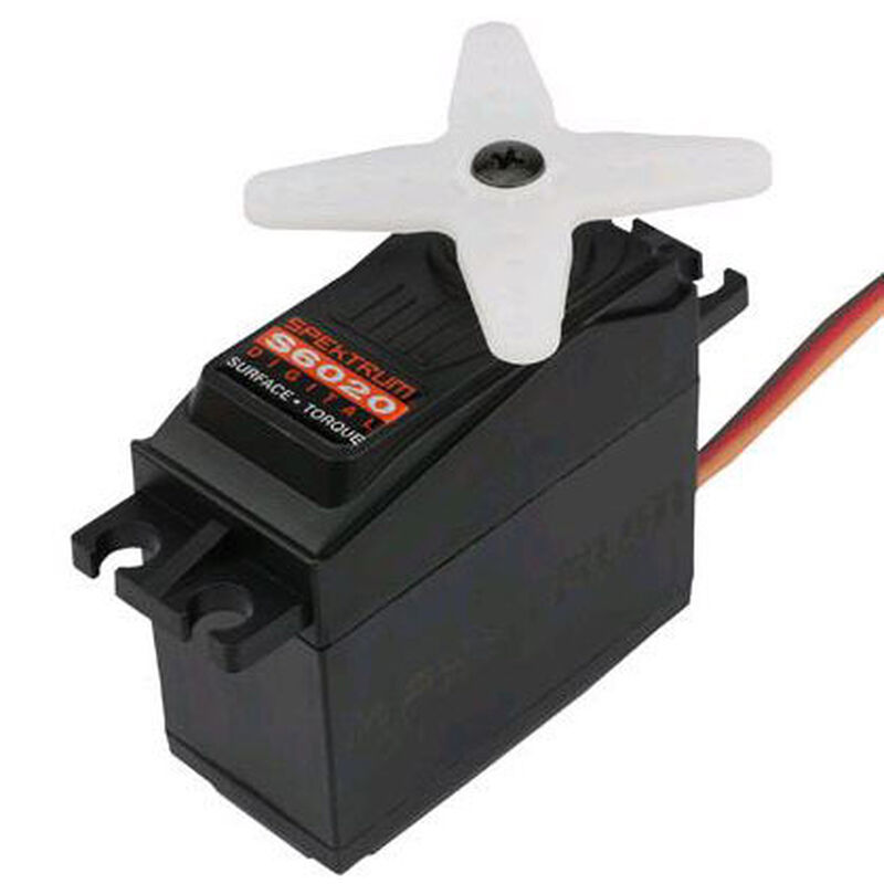 S6020 Standard Digital High Torque Metal Gear Surface Servo