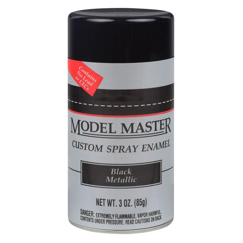 MM Car Spray Black Metallic