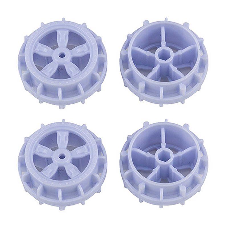 NanoSport Wheels, White