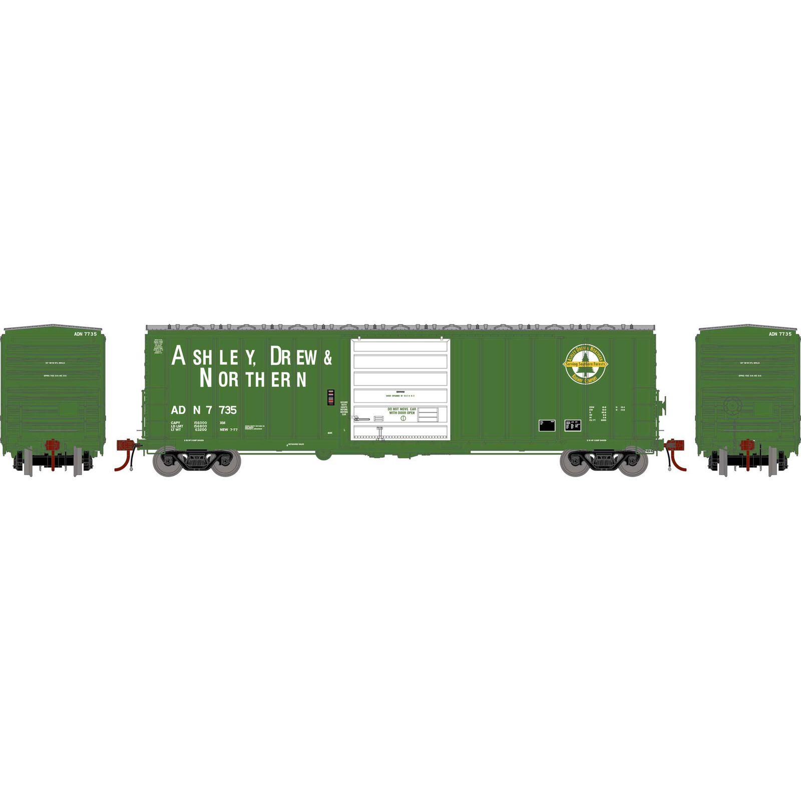 HO 50' SIECO Box, AD&N #7735