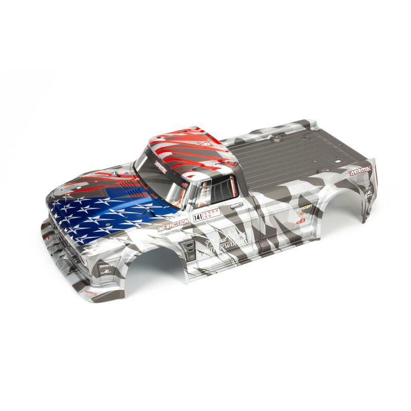 Painted Body, Silver/Red: INFRACTION 6S BLX