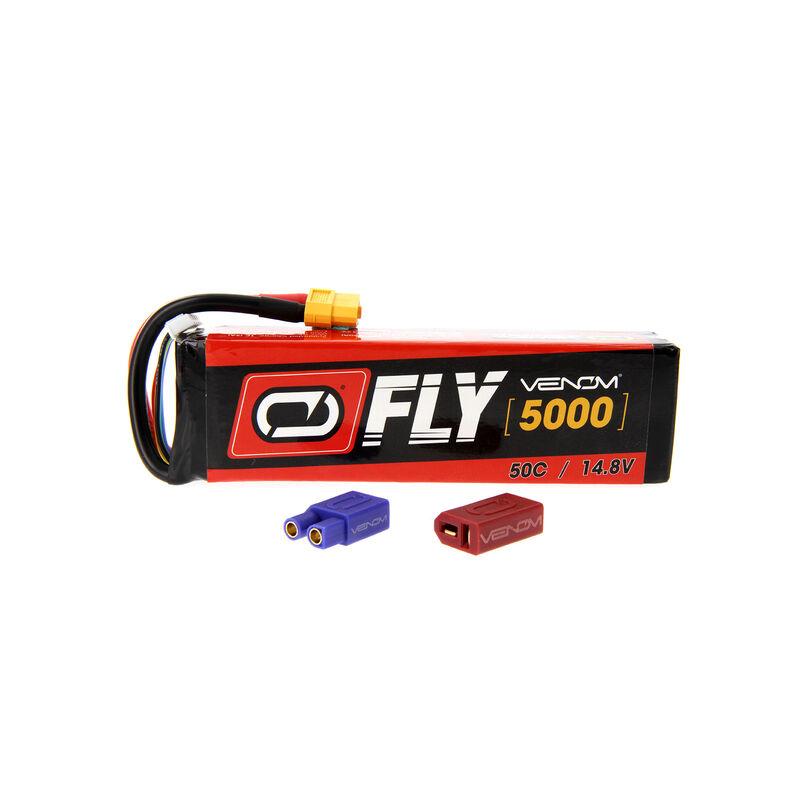 14.8V 5000mAh 4S 50C FLY LiPo Battery: UNI 2.0 Plug