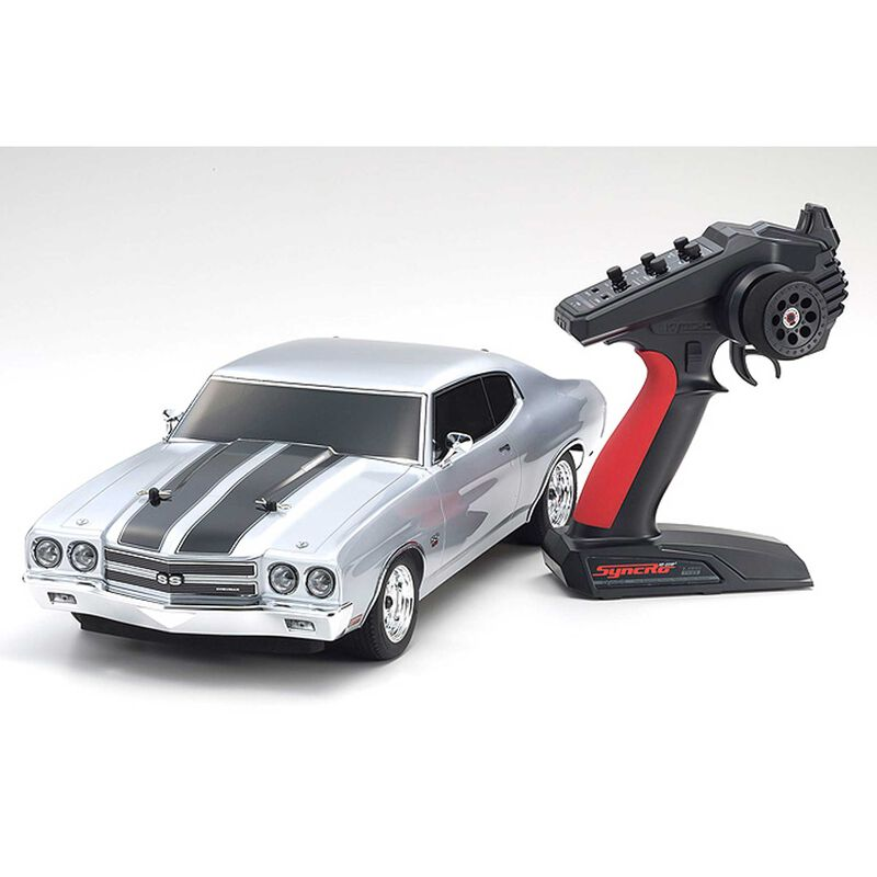 1/10 Fazer Mk2 Chevelle 4WD Brushed RTR, Silver
