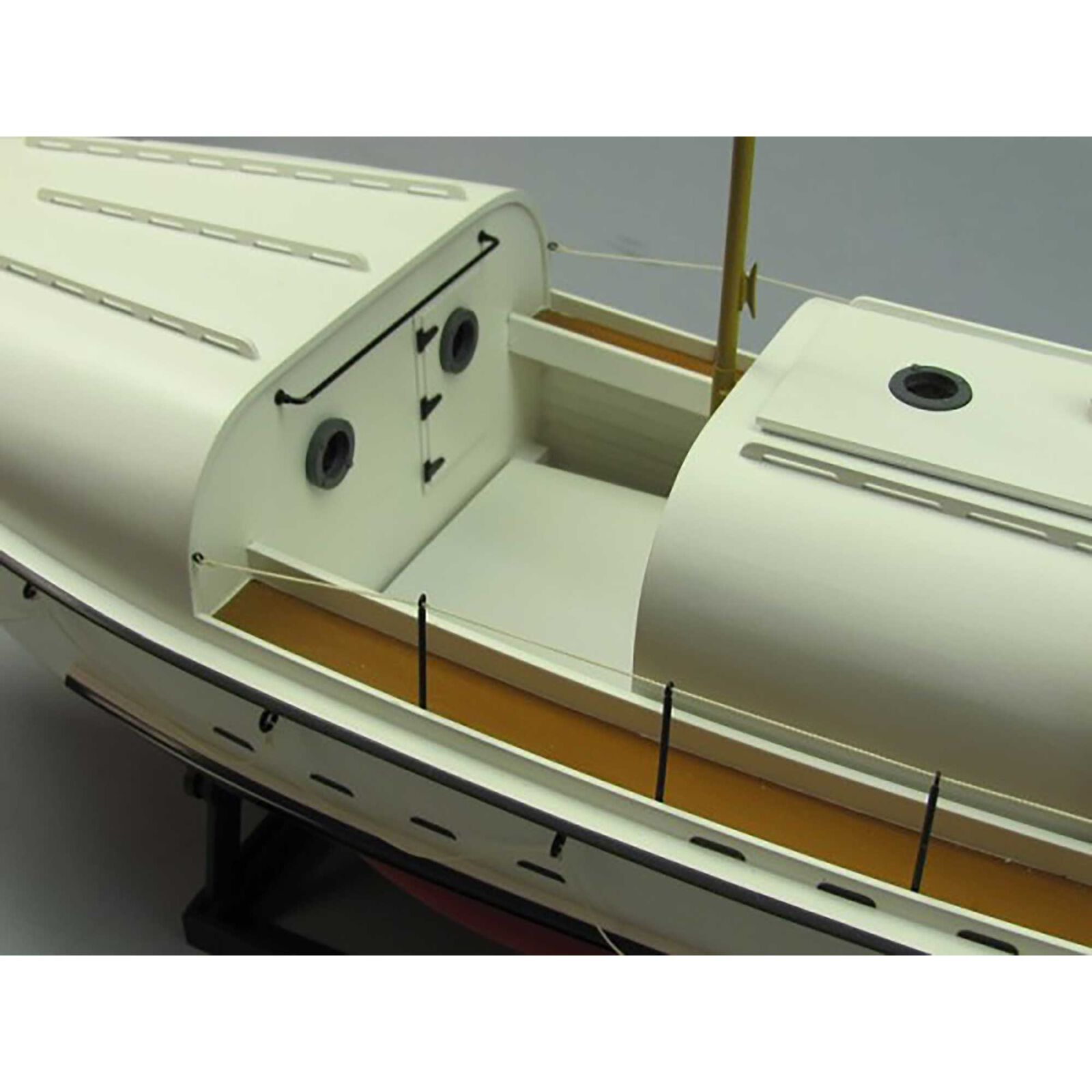 1/16 USCG 36500 36' Motor Lifeboat Kit, 27""