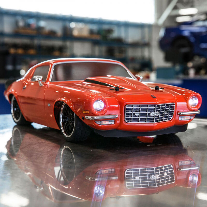 1/10 1972 Chevy Camaro SS V100 4WD Brushed RTR, Orange