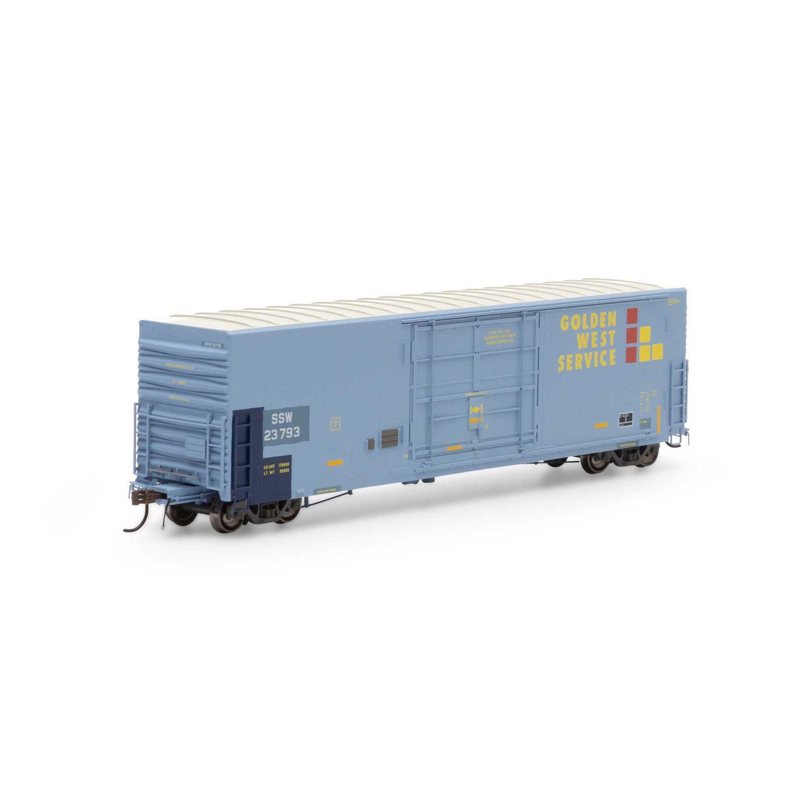 HO 50' PC&F SS Box with 14' Plug Door, GWS/SSW #23793