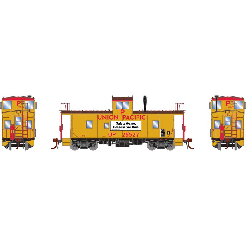 HO CA-8 Late Caboose with Lights UP #25527