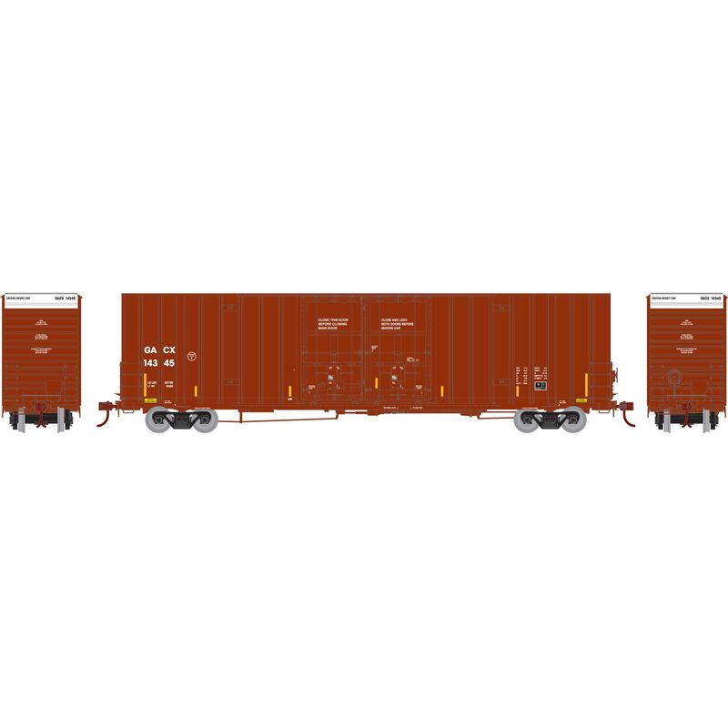 HO RTR 60' Gunderson Box GACX #14345