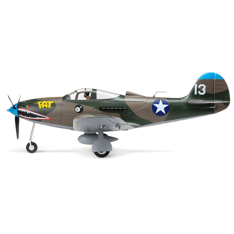P-39 Airacobra 1.2m BNF Basic with AS3X and SAFE Select