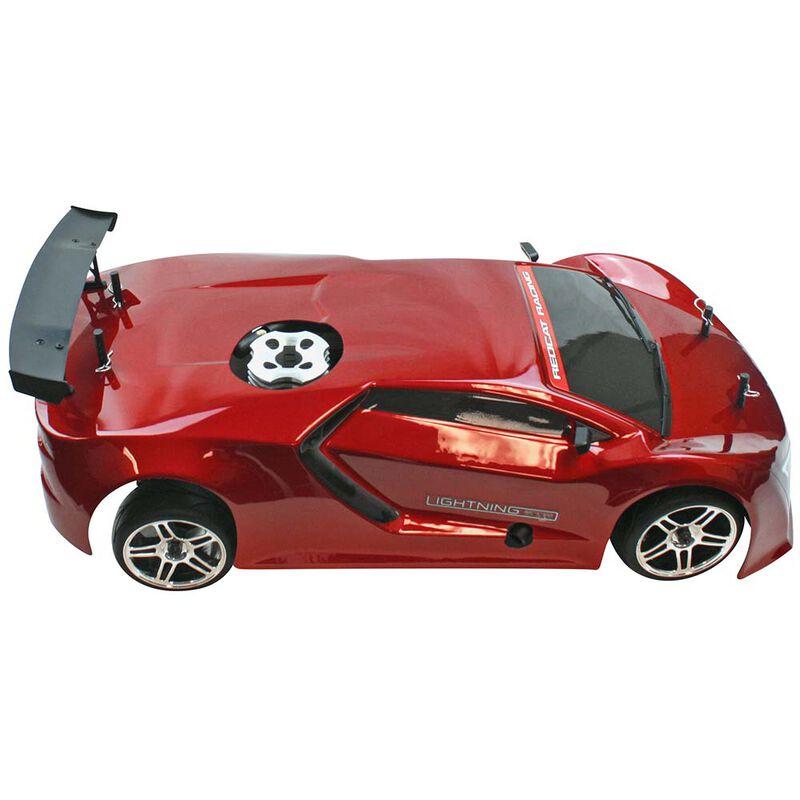 1/10 Lightning STR Nitro Drift Car RTR, Red