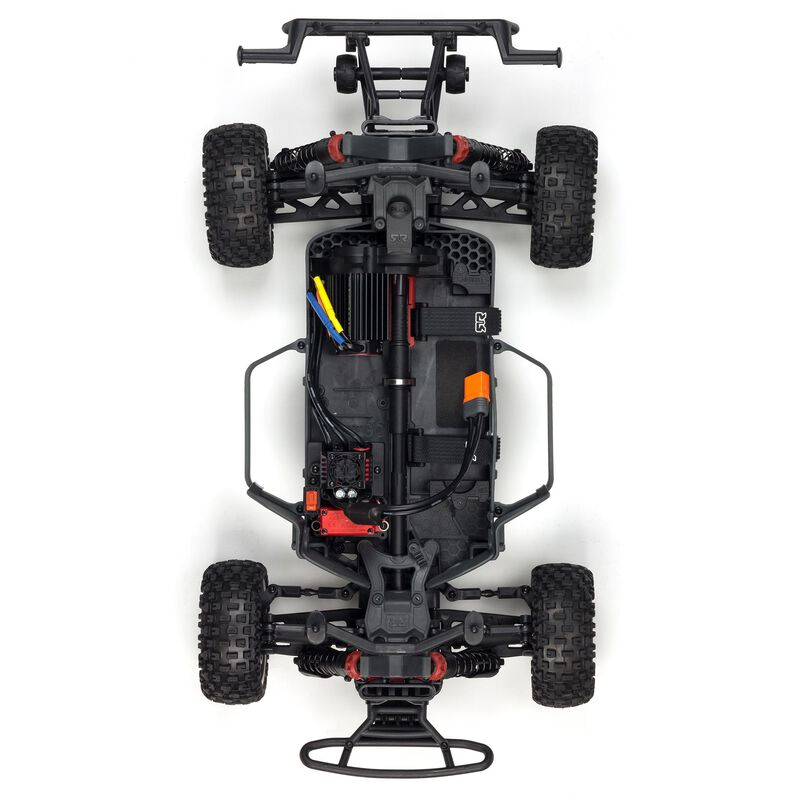 1/10 SENTON 3S BLX 4WD Brushless Short Course Truck with Spektrum RTR, Orange/Black