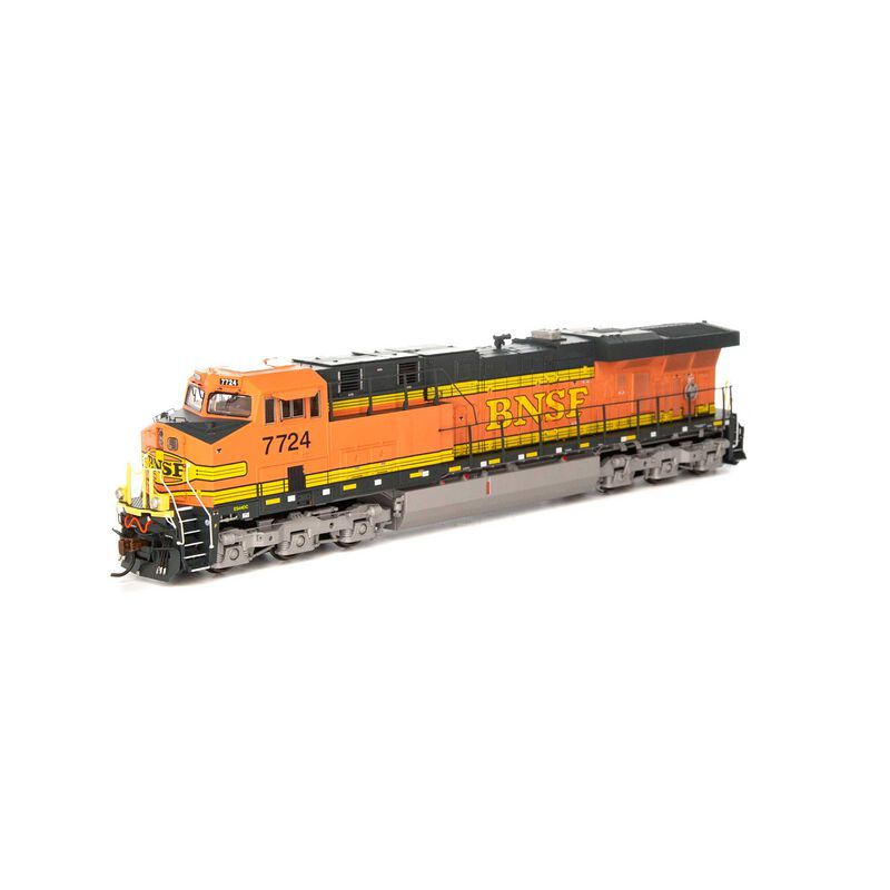 HO ES44DC with DCC & Sound BNSF Faded H1 #7724
