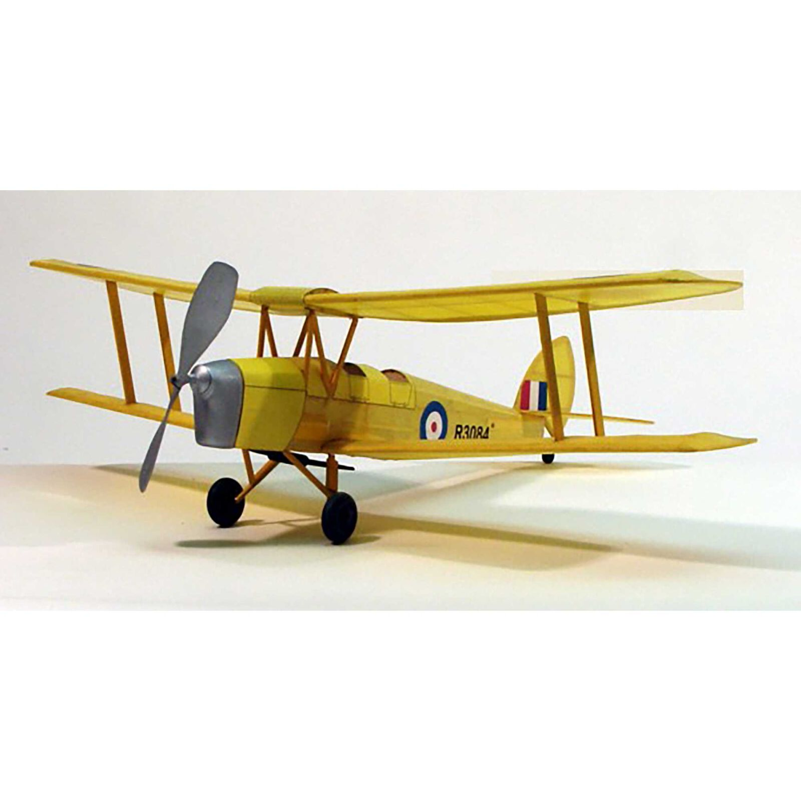 """Tiger Moth Rubber Powered Kit, 17.5"""""""