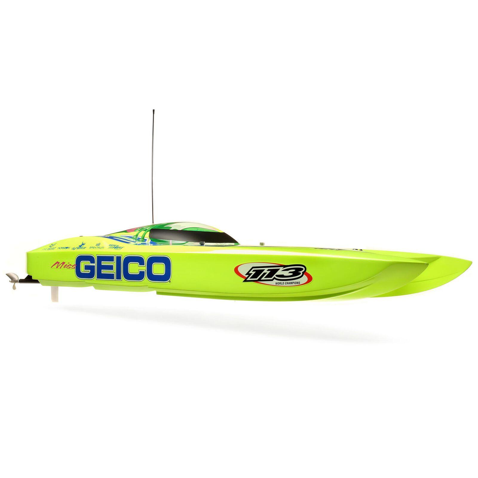 "Miss GEICO Zelos 36"" Twin Brushless Catamaran RTR"