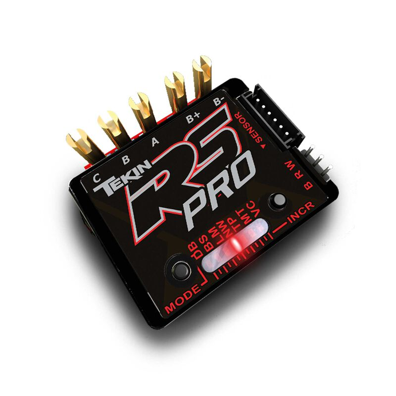 RS Pro Black Edition BL Sensored/Sensorless ESC