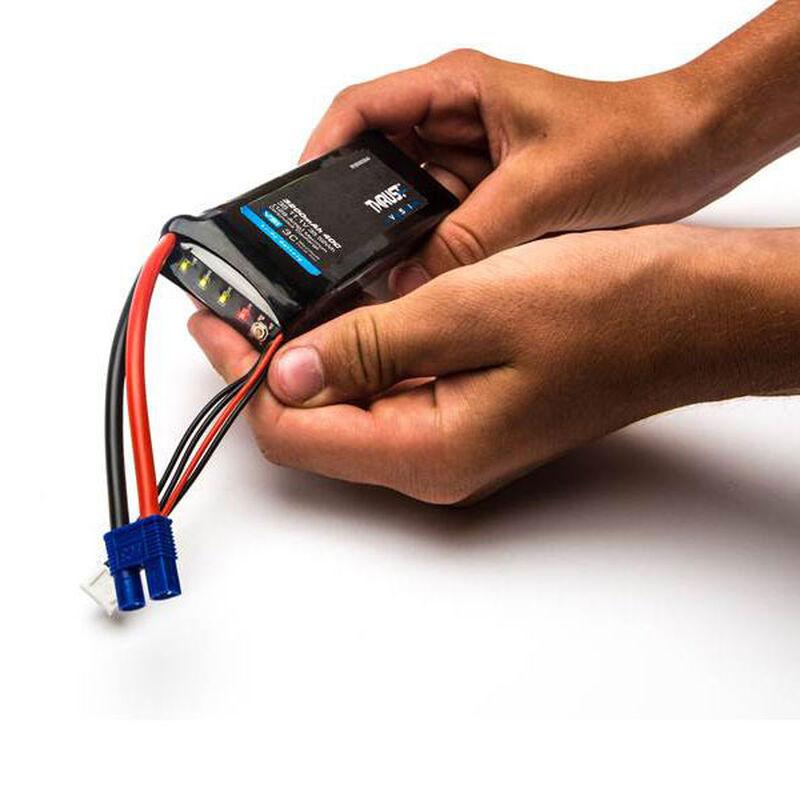 11.1V 2200mAh 3S 40C Thrust VSI LiPo Battery: EC3