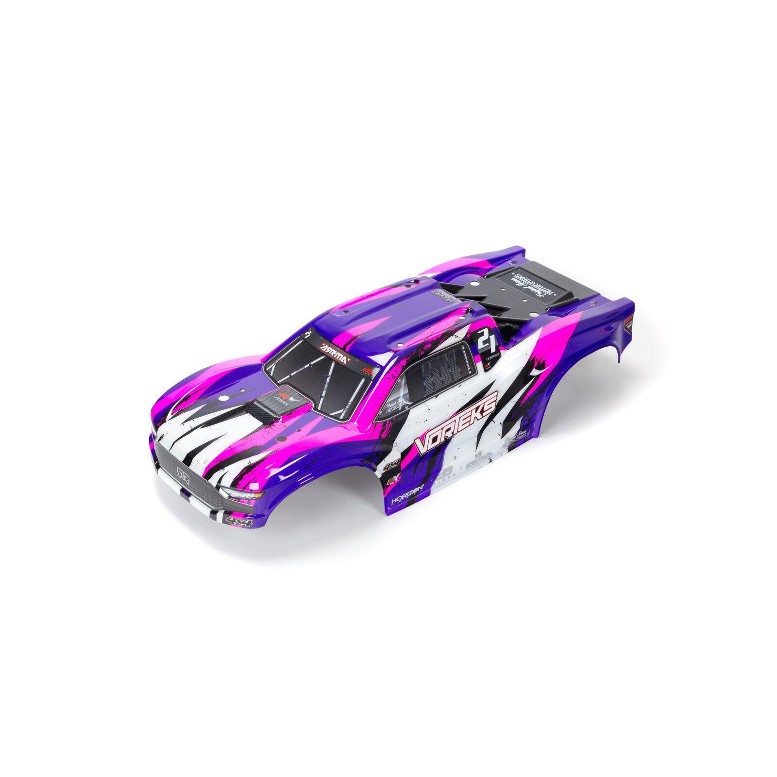 VORTEKS 4X4 BLX Painted Decal Trimmed Body(Purple)