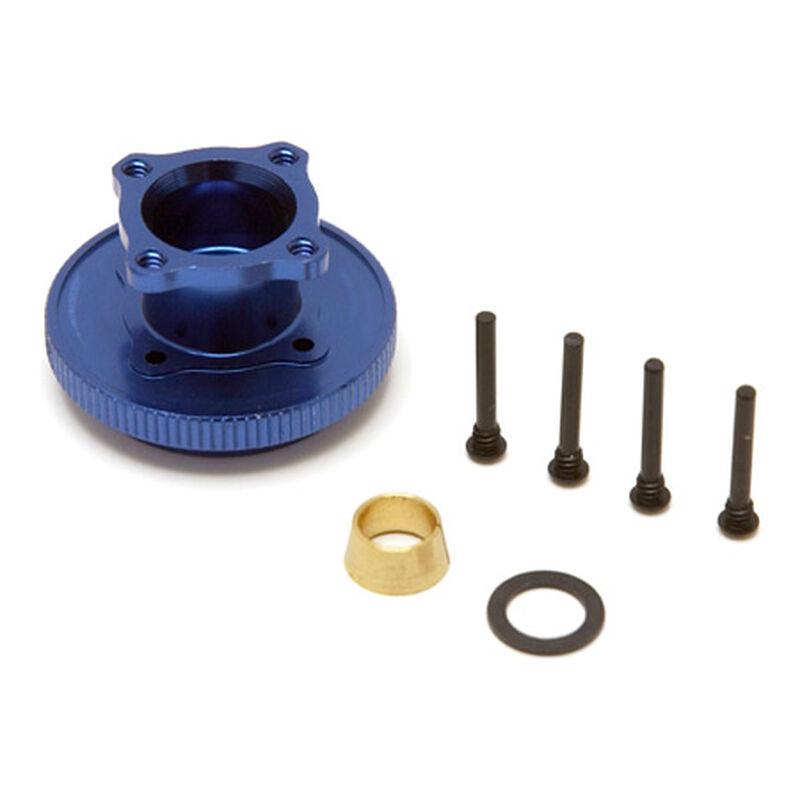 Flywheel & Collet, Aluminum: 8B 2.0