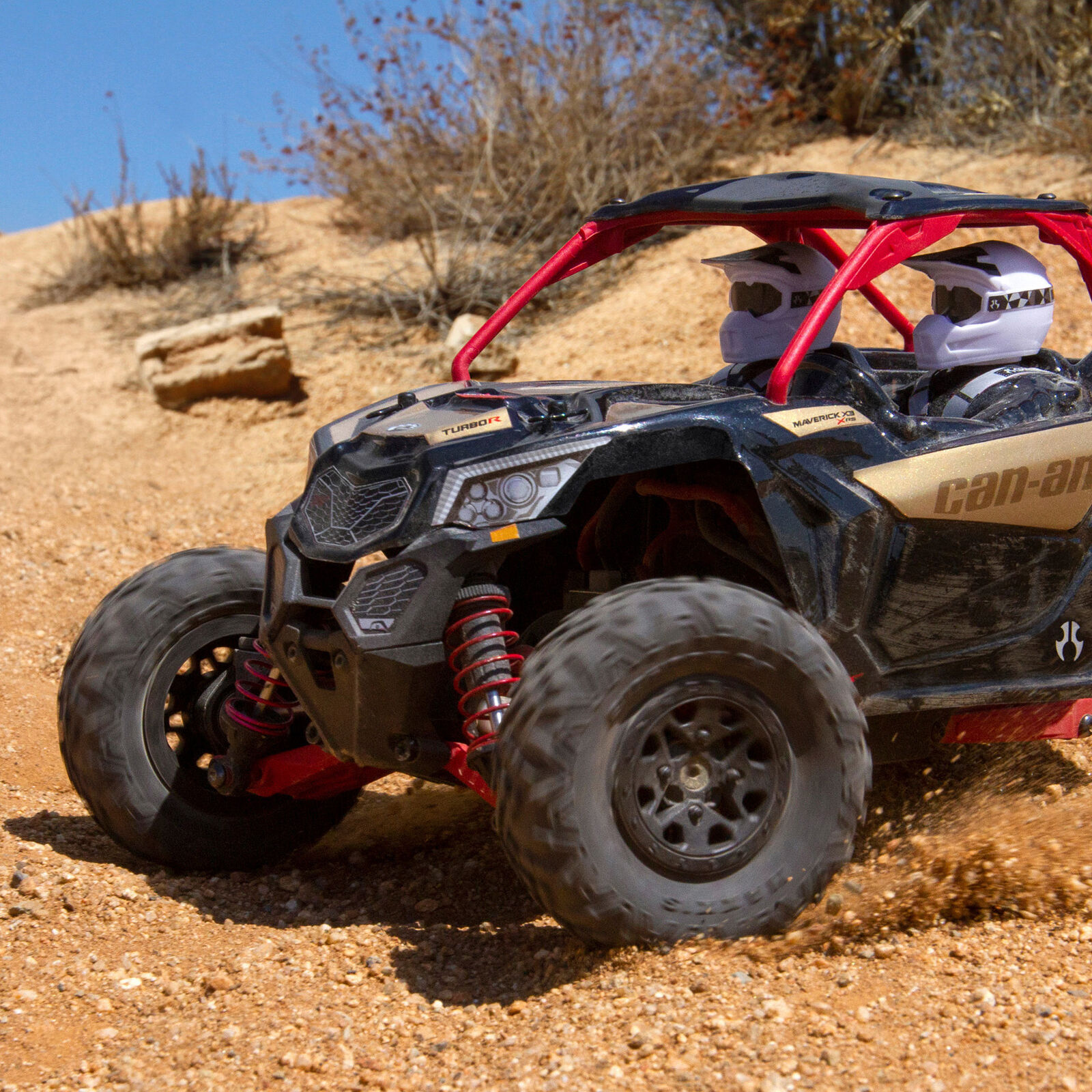 1/18 Yeti Jr. Can-Am Maverick 4WD Brushed RTR