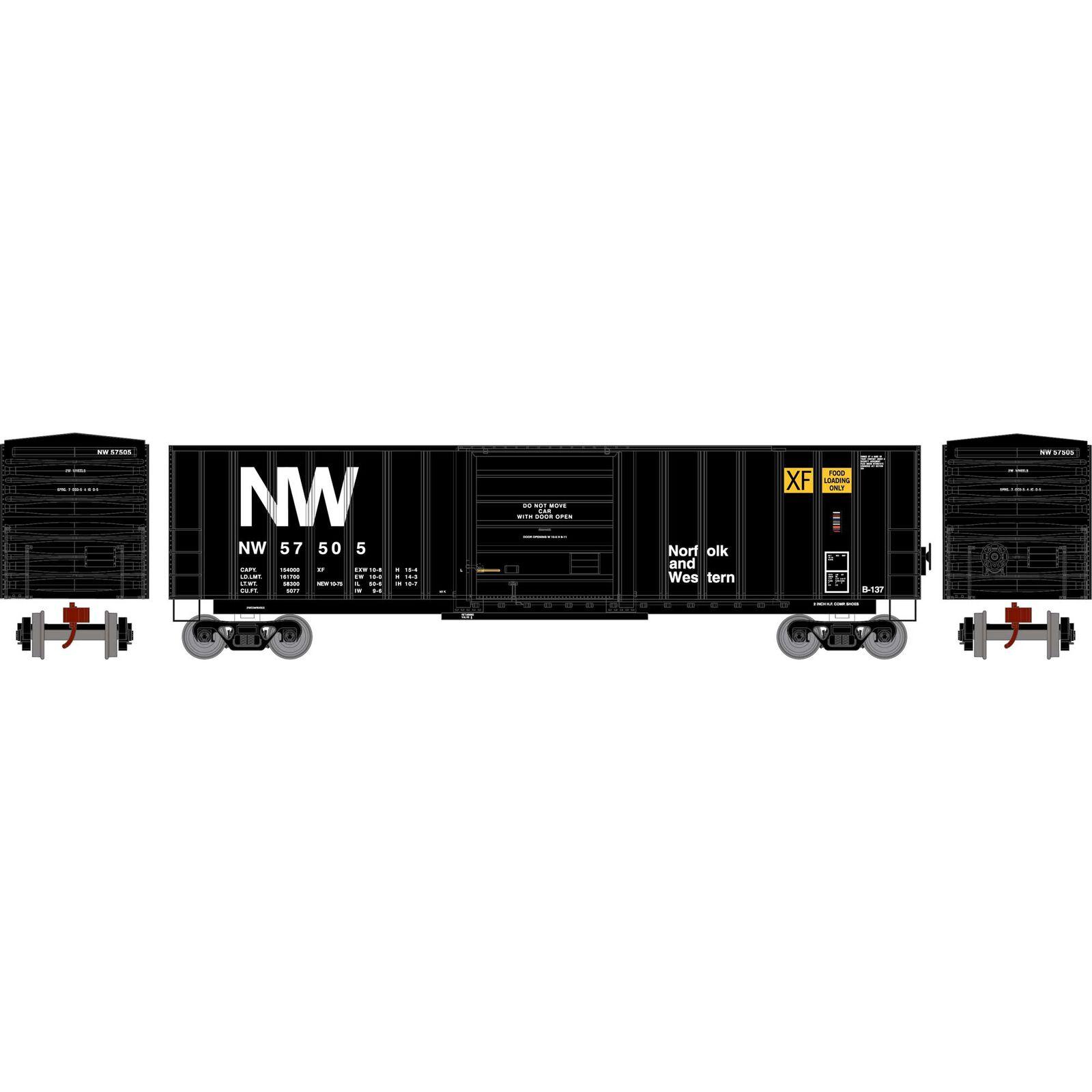 N 50' SIECO Box, N&W #57505